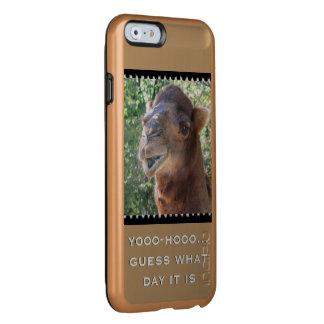 El camello habla funda para iPhone 6 plus incipio feather shine