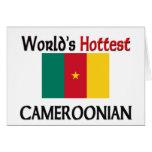 El Cameroonian más caliente del mundo Tarjetón
