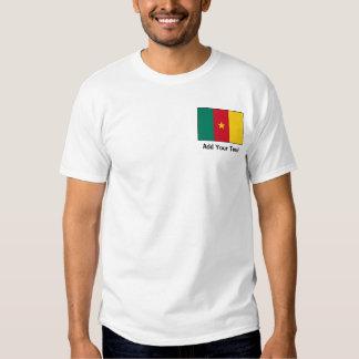 El Camerún - bandera camerunesa Playera