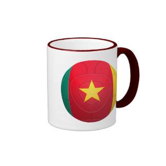 El Camerún - fútbol de Indomables de los leones de Taza A Dos Colores