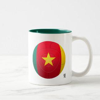 El Camerún - fútbol de Indomables de los leones de Taza Dos Tonos
