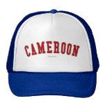El Camerún Gorras De Camionero