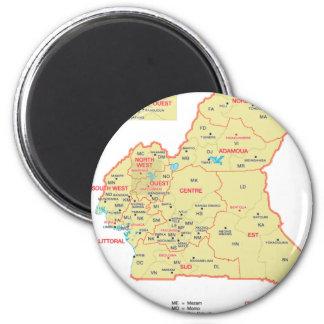 El Camerún Imán Redondo 5 Cm