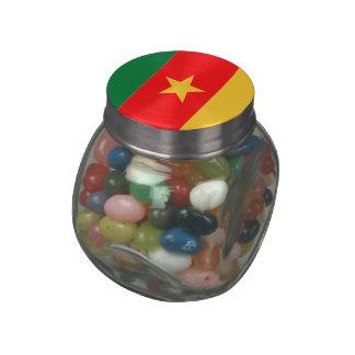 El Camerún Jarrones Cristal