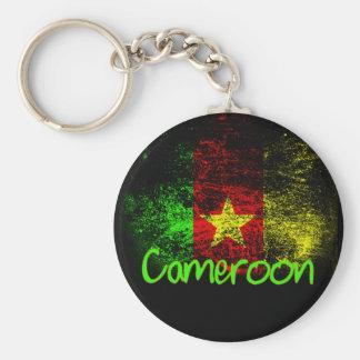 El Camerún Llavero Redondo Tipo Pin