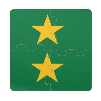 El Camerún Posavasos De Puzzle