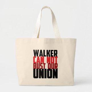 El caminante no puede reventar nuestra unión bolsas de mano