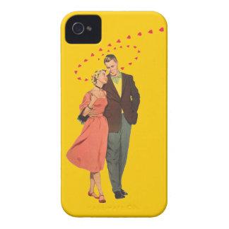 El caminar a casa - ejemplo del vintage de los funda para iPhone 4 de Case-Mate