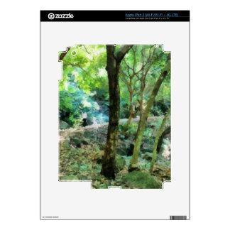 El caminar a través del bosque pegatinas skins para iPad 3