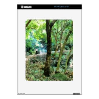 El caminar a través del bosque skins para iPad