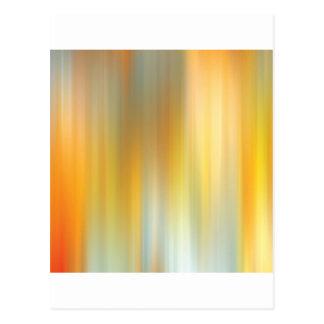 El caminar abstracto de los colores tarjetas postales