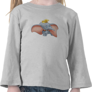 El caminar de Dumbo del bebé Camisetas