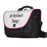 El caminar de enseñanza es la terapia de mi novio bolsas para portatil
