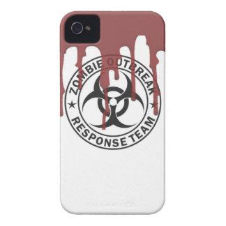 el caminar de la sangre del equipo de la respuesta carcasa para iPhone 4