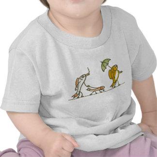 El caminar de los pescados camisetas