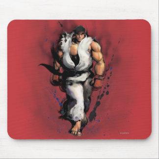 El caminar de Ryu Tapetes De Ratón