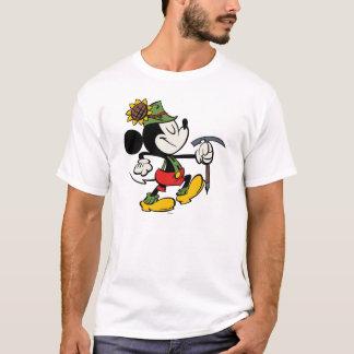 El caminar de Yodelberg Mickey el | feliz Playera