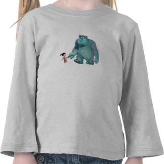 El caminar del abucheo y de Sulley de Monsters Camisetas