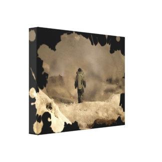 El caminar del juego de la bomba lona estirada galerias