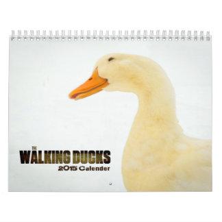 El caminar Ducks el calendario 2015