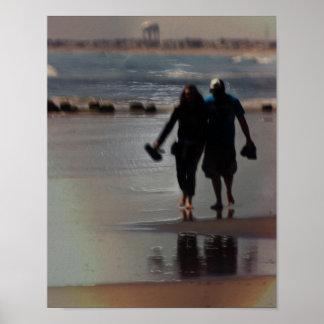El caminar en amor póster