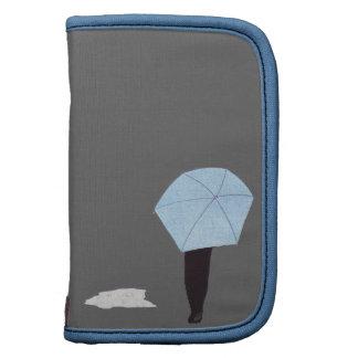 El caminar en la lluvia planificador