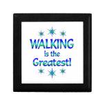 El caminar es el más grande cajas de joyas