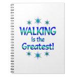 El caminar es el más grande cuadernos