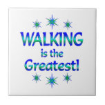 El caminar es el más grande tejas  cerámicas