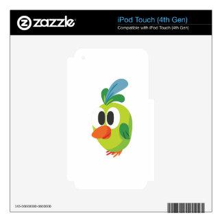 el caminar hermoso del pájaro iPod touch 4G skin