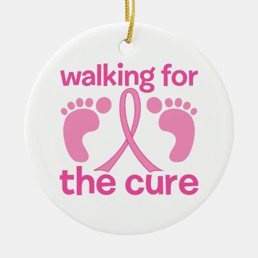 El caminar para la curación adornos de navidad