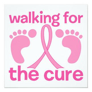 El caminar para la curación comunicado personalizado