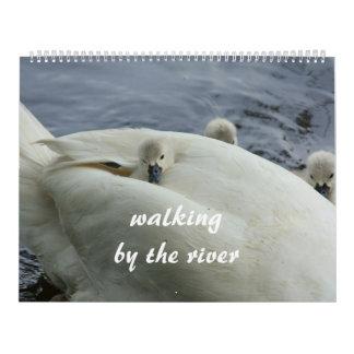 el caminar por el río calendarios de pared
