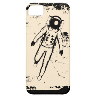 El caminar retro de la luna iPhone 5 carcasas