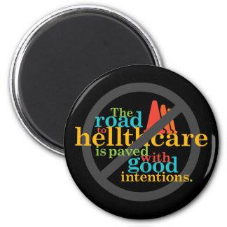 El camino a Hellthcare… Imán Redondo 5 Cm