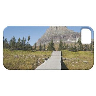 El camino a la vista del lago ocultado funda para iPhone SE/5/5s