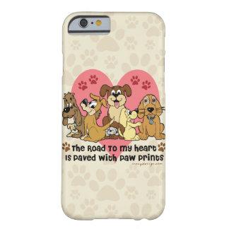 El camino a mis perros del corazón funda barely there iPhone 6