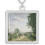 El camino a Sevres, 1858-59 Collar Plateado
