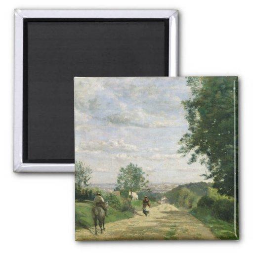 El camino a Sevres, 1858-59 Imán Cuadrado