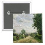 El camino a Sevres, 1858-59 Pin Cuadrado