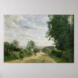 El camino a Sevres, 1858-59 Póster