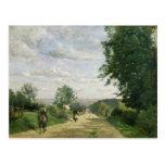 El camino a Sevres, 1858-59 Tarjetas Postales