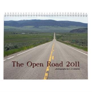 El camino abierto 2011 calendario