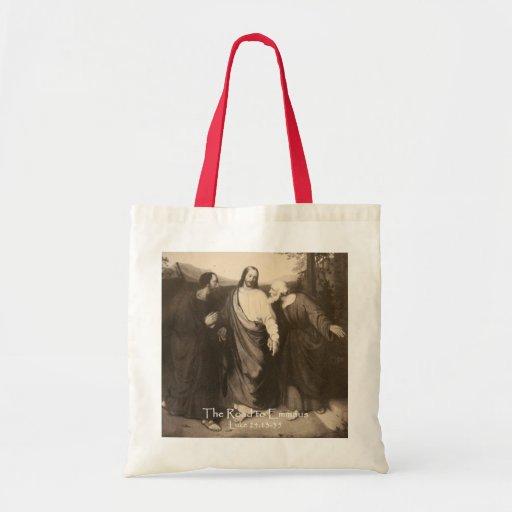 El camino al bolso del personalizado de Emmaus