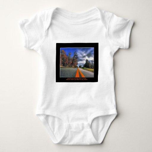 El camino al éxito body para bebé