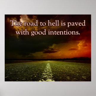 El camino al infierno póster