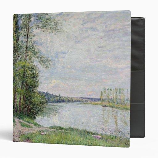 "El camino de la orilla de Veneux a Thomery, 1880 Carpeta 1 1/2"""