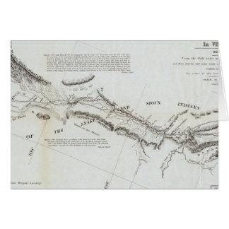 El camino de Missouri a Oregon 2 Tarjetas
