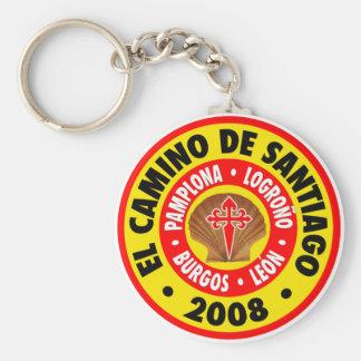 El Camino De Santiago 2008 Basic Round Button Keychain