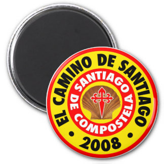 El Camino de Santiago 2008 Refrigerator Magnets
